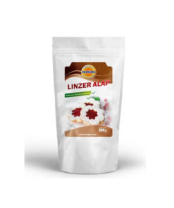 Linzer cookie powder