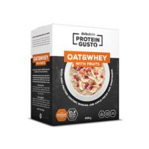 Oat Whey Banana Apple Porridge