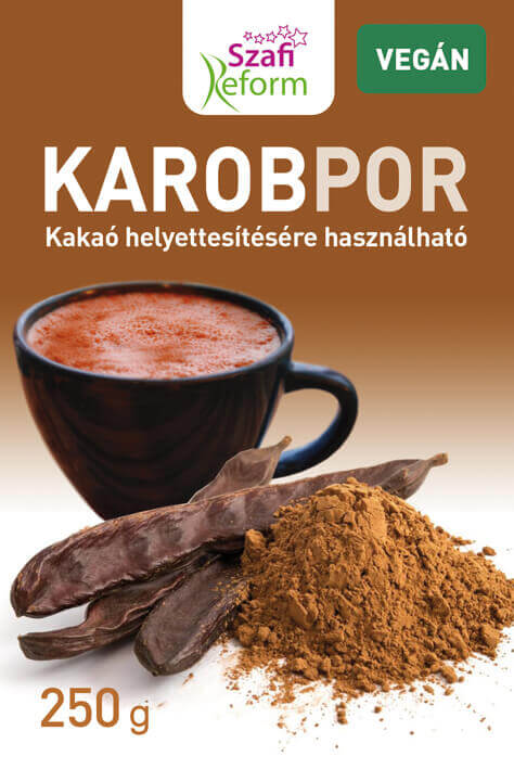 Carob Powder - Sweet Substitute For Cocoa Powder