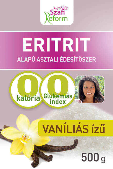 Erythritol Calorie Free Sweetener Vanilla Flavour - Low Carb Sugar Replacement
