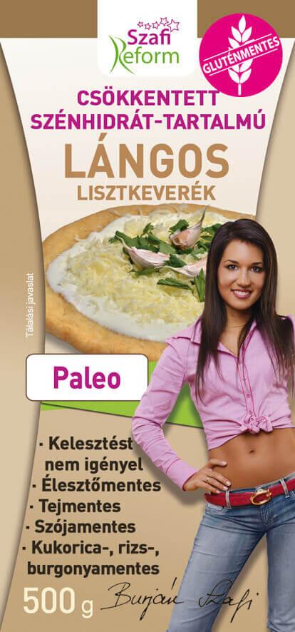 Gluten Free Flatbread Flour Mix - Yeast Free Paleo Langos Mix