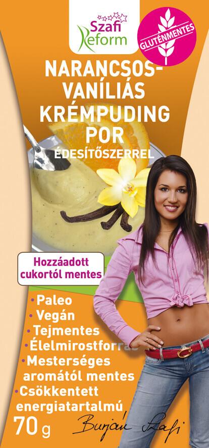 Gluten Free Orange-Vanilla Pudding Mix