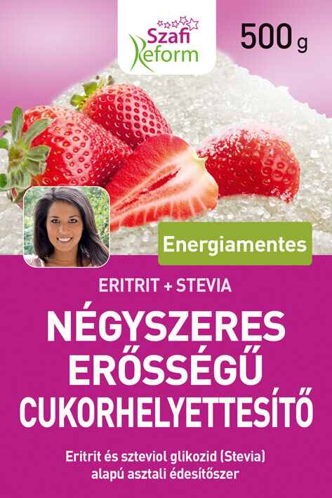 Stevia and Erythritol Sweetener - 4x Sweeter Sugar Replacement Paleo