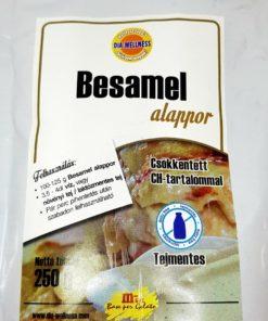 Bechamel powder in a bag